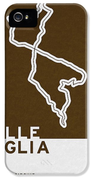 Legendary Races - 1927 Mille Miglia IPhone 5 Case by Chungkong Art