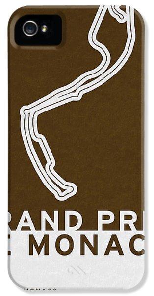 Legendary Races - 1929 Grand Prix De Monaco IPhone 5 Case by Chungkong Art