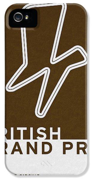 Legendary Races - 1948 British Grand Prix IPhone 5 Case by Chungkong Art