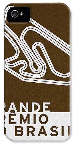 Legendary Races - 1973 Grande Premio Do Brasil IPhone 5 Case by Chungkong Art