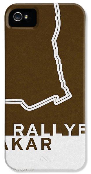 Legendary Races - 1978 Le Rallye Dakar IPhone 5 Case by Chungkong Art