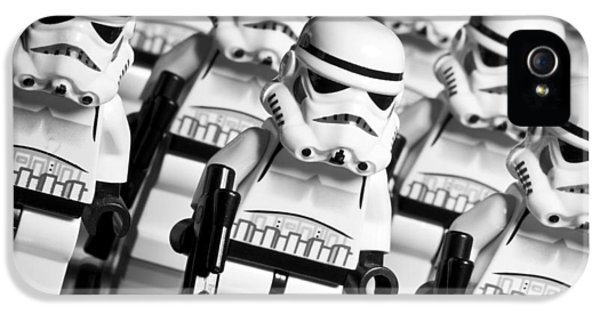Lego Storm Trooper Army IPhone 5 Case by Samuel Whitton
