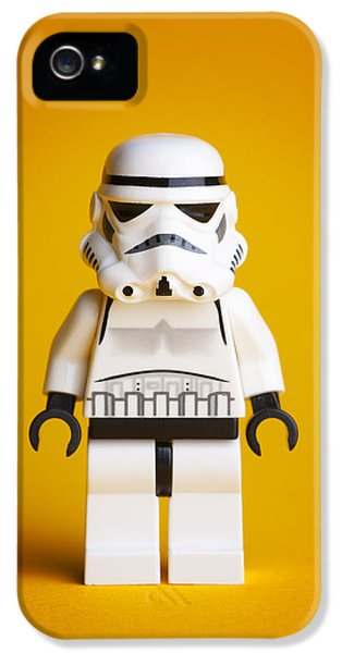Lego Storm Trooper IPhone 5 Case by Samuel Whitton