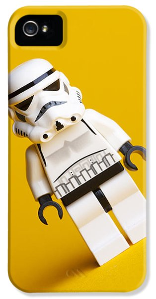 Lego Stormtrooper IPhone 5 Case by Samuel Whitton
