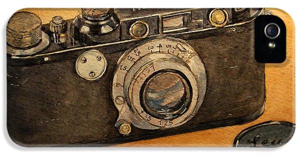 Leica II Camera IPhone 5 Case