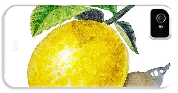 Artz Vitamins The Lemon IPhone 5 Case