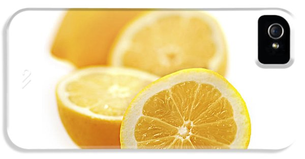 Lemon iPhone 5 Case - Lemons by Elena Elisseeva