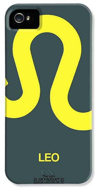 Leo Zodiac Sign Yellow IPhone 5 Case