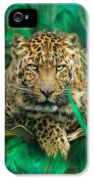 Leopard - Spirit Of Empowerment IPhone 5 Case