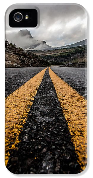 Less Traveled IPhone 5 Case by Aaron Aldrich