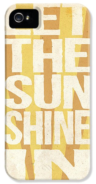 Let The Sunshine In IPhone 5 / 5s Case by Pati Photography