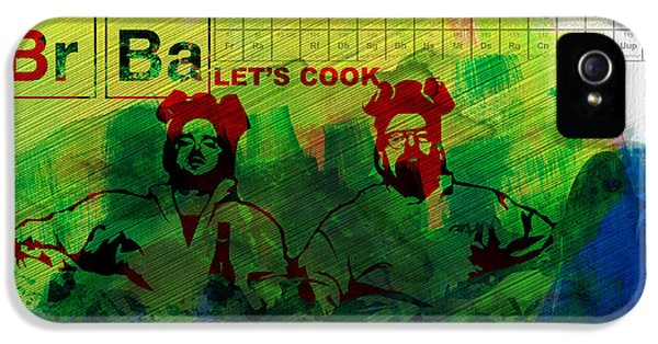 Let's Cook Watercolor IPhone 5 Case