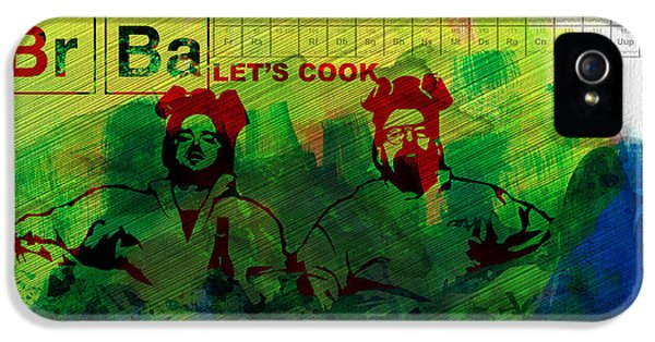Let's Cook Watercolor IPhone 5 Case by Naxart Studio