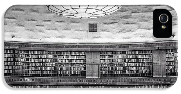 Design iPhone 5 Case - Library by Karim Taib