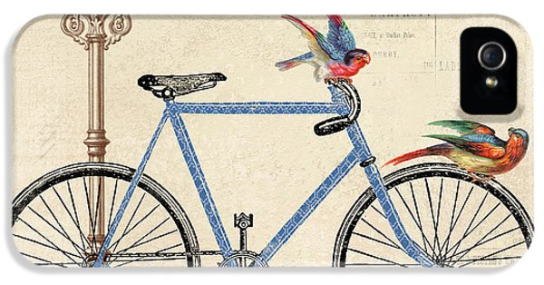 Transportation iPhone 5 Case - Life Is A Beautiful Ride by Jean Plout