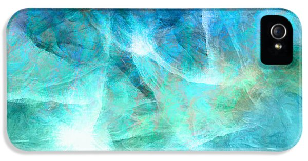 Life Is A Gift - Abstract Art IPhone 5 Case by Jaison Cianelli