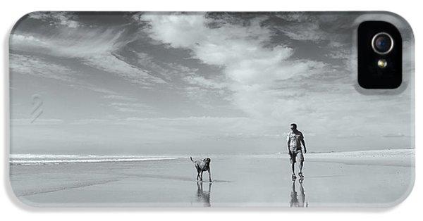 French iPhone 5 Case - Life's A Beach by Karen Van Eyken