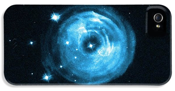 Light Echoes From Exploding Star IPhone 5 Case by Nasa, Esa And H.e. Bond (stsci)
