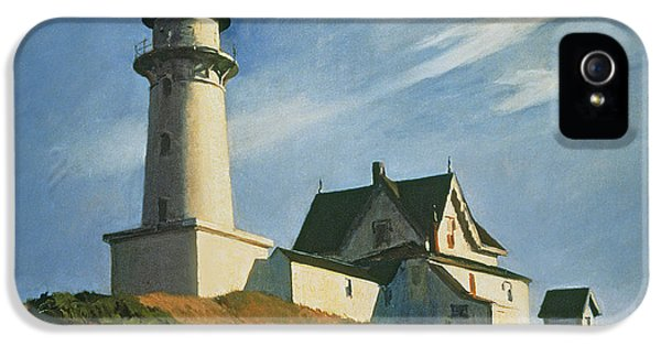 Lighthouse At Two Lights IPhone 5 Case