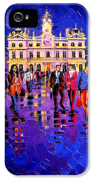 Lights And Colors In Terreaux Square IPhone 5 Case