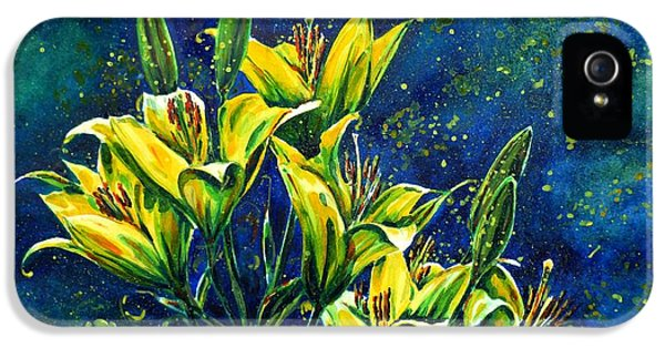Lilies IPhone 5 Case