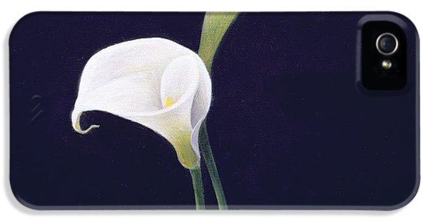 Lily iPhone 5 Case - Lily by Lincoln Seligman