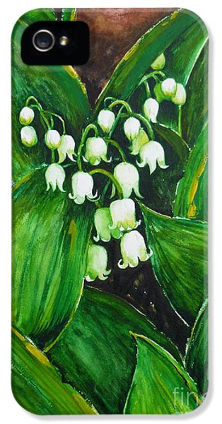 Lily Of The Valley IPhone 5 Case