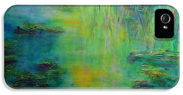 Lily Pond Tribute To Monet IPhone 5 Case