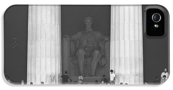 Lincoln Memorial - Washington Dc IPhone 5 Case by Mike McGlothlen