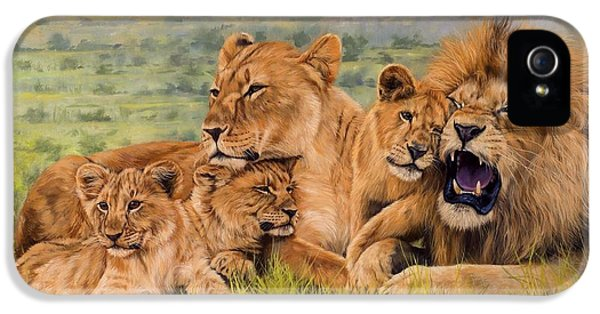 Lion Family IPhone 5 Case