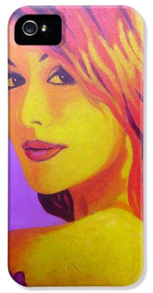 Lisa Darling IIi - The Irish Burlesque School IPhone 5 Case by John  Nolan
