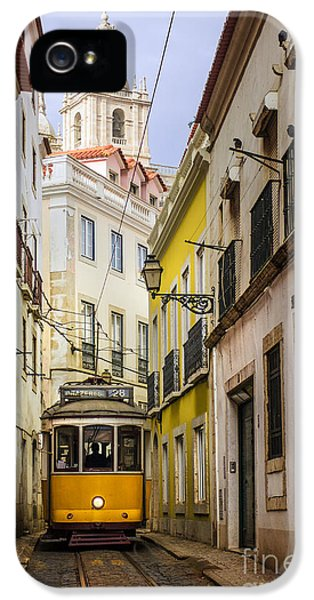 Lisbon Tram IPhone 5 Case