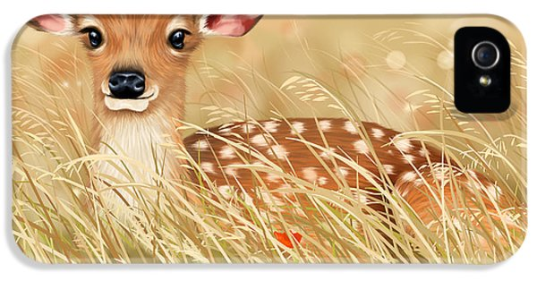 Little Fawn IPhone 5 Case by Veronica Minozzi