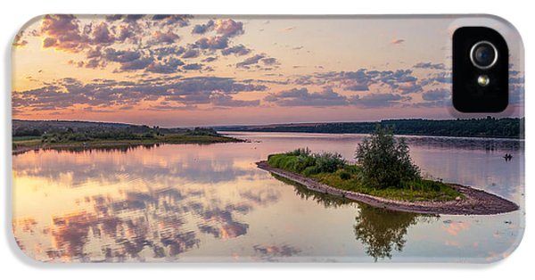 Little Island On Sunset IPhone 5 Case by Dmytro Korol