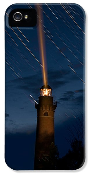 Little Sable Lighthouse IPhone 5 Case by Steve Gadomski