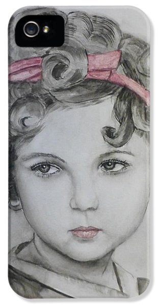 Little Shirley Temple IPhone 5 Case