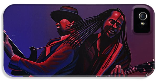 Living Colour Painting IPhone 5 Case by Paul Meijering