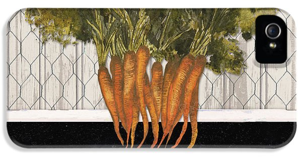 Carrot iPhone 5 Case - Local Grown I by Elizabeth Medley