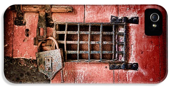 Dungeon iPhone 5 Case - Locked Up by Olivier Le Queinec