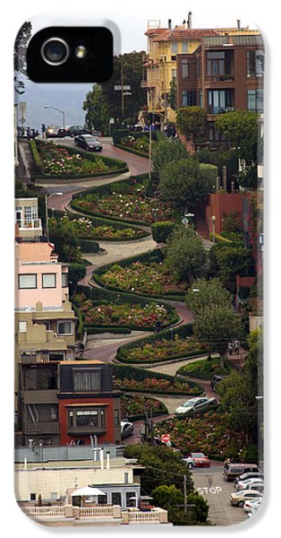 Lombard Street IPhone 5 Case by David Salter