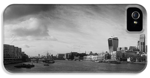London City Panorama IPhone 5 Case by Pixel Chimp