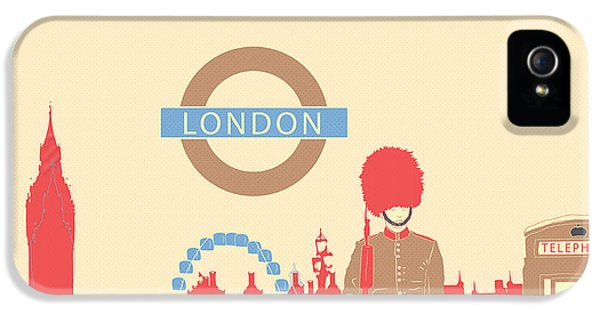 London England IPhone 5 Case by Famenxt DB