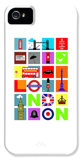 London IPhone 5 Case by Mark Rogan