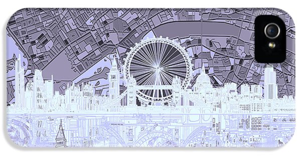 London Skyline Abstract 10 IPhone 5 Case