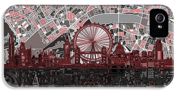 London Skyline Abstract 6 IPhone 5 Case