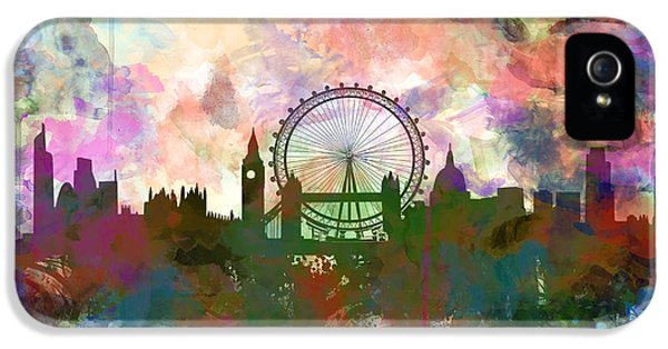 London Skyline Watercolor IPhone 5 Case
