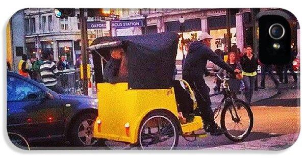 London iPhone 5 Case - #london #street  #streetphoto #cars by Abdelrahman Alawwad