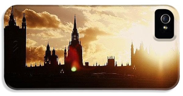 London iPhone 5 Case - #london #westminster #parliamenthouse by Ozan Goren