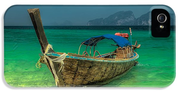 Longboat IPhone 5 Case by Adrian Evans