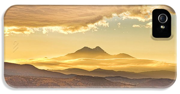 Longs Peak Autumn Sunset IPhone 5 Case by James BO  Insogna